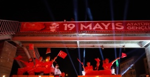 Lüleburgaz'da 19 Mayıs böyle kutlandı!