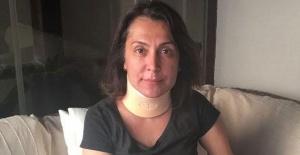 Asuman Dabak trafik kazası geçirdi