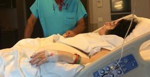 Nur Yerlitaş hastaneye kaldırıldı.