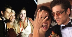 Bora Akkaş ve Seda Türkmen evlendi
