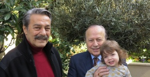 Kadir İnanır Yılmaz Ulusoy'u ziyaret etti
