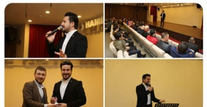Şair Kasım Alper Özdemir, Şiirseverlerle buluştu!