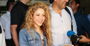 Shakira İstanbul'a geldi