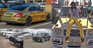 Adebayor otomobil koleksiyonunu yeniledi