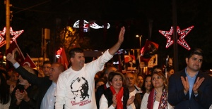 Cumhuriyet'in 96. Yılı Kadıköy de coşkuyla kutlandı