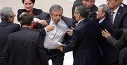 4+4+4 görüşmesinde Mecliste kavga çıktı