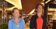 Alara Koçibey ve oğlu Emre Renç Uzan Zorlu Center'da görüntülendi