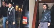 Beren Saat, Kenan Doğulu'yu stüdyosunda ziyaret etti