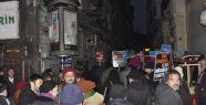 İstiklal Caddesi'nde büyük protesto!