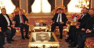 MSG Başkan Yardımcısı Ferhat Göçer ve Yönetim Kurulu üyeleri İstanbul Valisi Vasip Şahin'i ziyaret etti