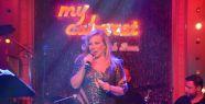 Nil Burak My Cabaret'te sahne aldı