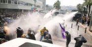 Polis yine gaz ve su sıktı!