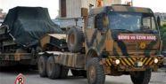 Suriye sınırına askeri sevkiyat başladı
