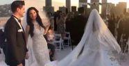 Tolgahan Sayışman, Almeda Aabazi ile Los Angeles'da evlendi