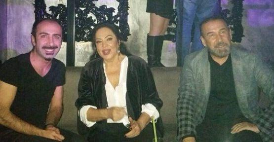 Türkan Şoray, Cihan Ünal ve Yağmur Ünal gala sonrası birlikte eğlendiler