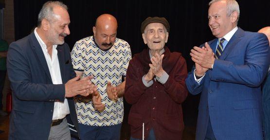 Usta Ressam İbrahim Balaban 95. Yaşını Kutladı