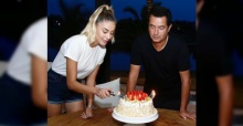 Acun Ilıcalı doğum gününü sevgilisiyle birlikte kutladı