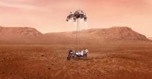 NASA'nın uzay aracı Perseverance Mars'a indi