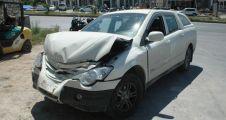Yeşilçam'ın efsanesi trafik kazası yaptı