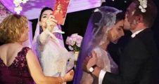 Murat Dalkılıç ve Merve Boluğur evlendi