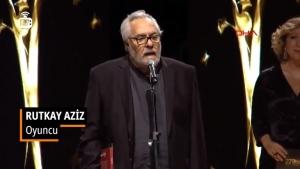 Rutkay Aziz Altın Koza Ödülü'nü Türk Tabipleri Birliği'ne Hediye Etti