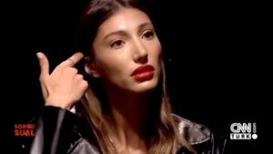 Türkiye Güzeli Şevval Şahin'in terlediği anlar
