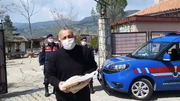 Mehmet Yüzüak'ın yardımına Jandarma koştu! - VİDEO